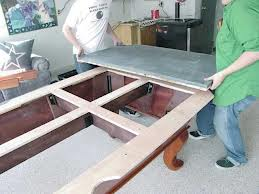 Pool table moves in Roseburg Oregon